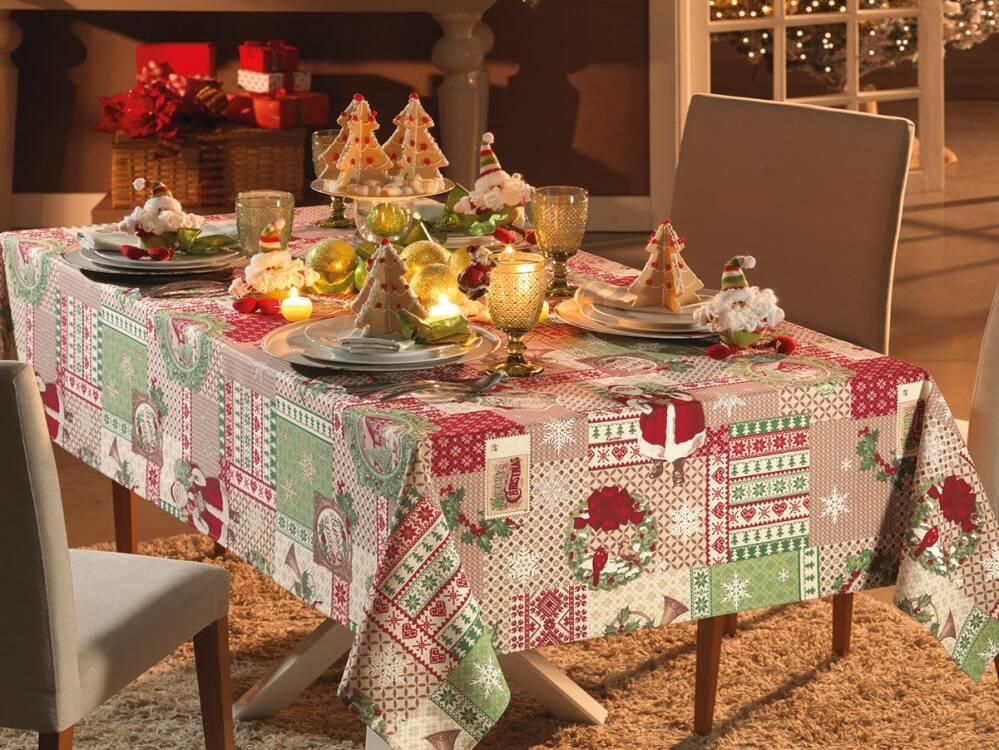 obrus świąteczny bożonarodzeniowy